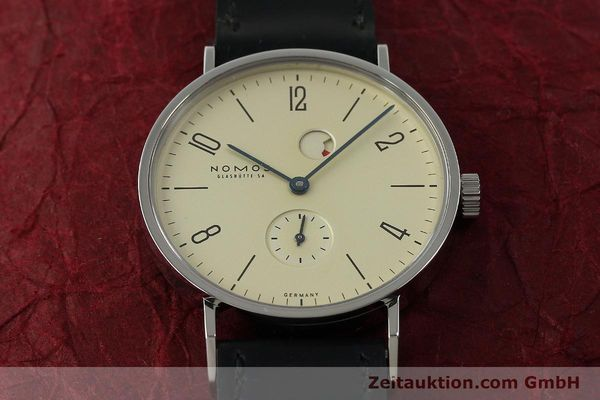 Used luxury watch Nomos Tangente steel manual winding Kal. Gamma 85 LIMITED EDITION | 150764 16