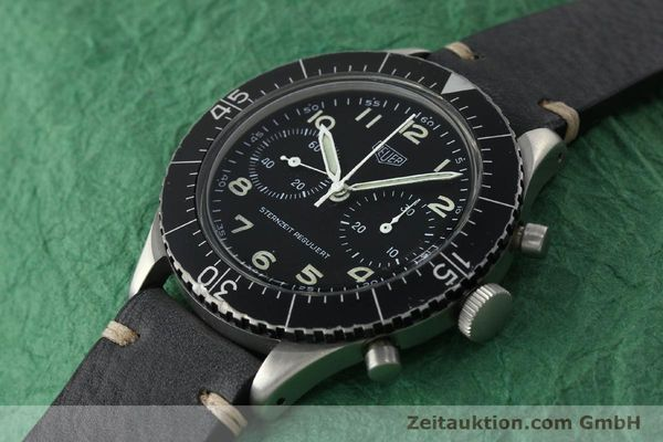 Used luxury watch Tag Heuer * chronograph steel manual winding Kal. Valj. 230 Ref. 3861 VINTAGE  | 150768 01