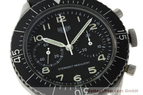 Used luxury watch Tag Heuer * chronograph steel manual winding Kal. Valj. 230 Ref. 3861 VINTAGE  | 150768 02