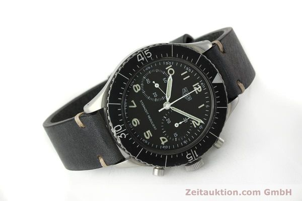 Used luxury watch Tag Heuer * chronograph steel manual winding Kal. Valj. 230 Ref. 3861 VINTAGE  | 150768 03