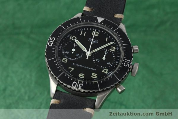 Used luxury watch Tag Heuer * chronograph steel manual winding Kal. Valj. 230 Ref. 3861 VINTAGE  | 150768 04