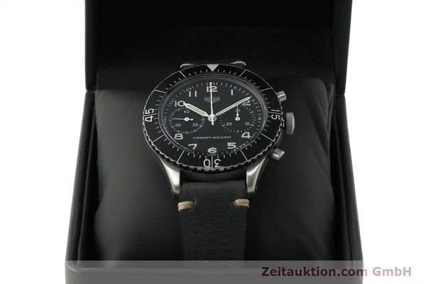Used luxury watch Tag Heuer * chronograph steel manual winding Kal. Valj. 230 Ref. 3861 VINTAGE  | 150768 07
