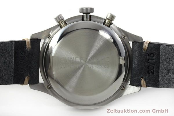 Used luxury watch Tag Heuer * chronograph steel manual winding Kal. Valj. 230 Ref. 3861 VINTAGE  | 150768 08
