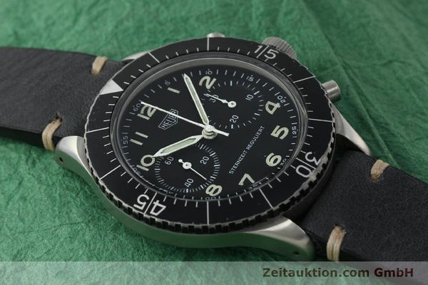 Used luxury watch Tag Heuer * chronograph steel manual winding Kal. Valj. 230 Ref. 3861 VINTAGE  | 150768 13