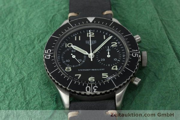 Used luxury watch Tag Heuer * chronograph steel manual winding Kal. Valj. 230 Ref. 3861 VINTAGE  | 150768 14