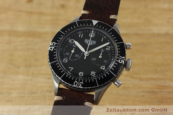 Used luxury watch Tag Heuer * chronograph steel manual winding Kal. R 230 Ref. 1550SG VINTAGE  | 150769 04