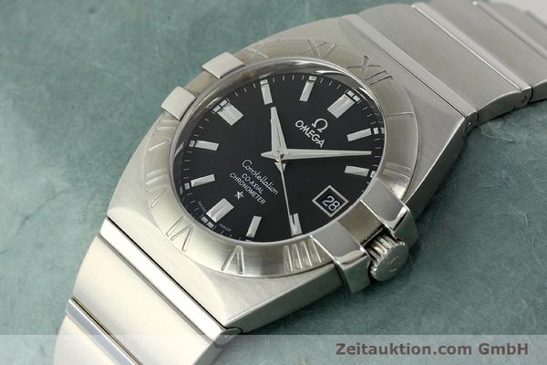 Used luxury watch Omega Constellation steel automatic Kal. 2500  | 150770 01