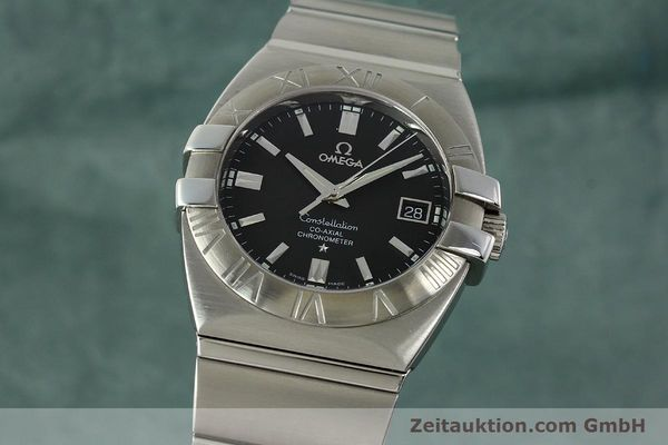Used luxury watch Omega Constellation steel automatic Kal. 2500  | 150770 04