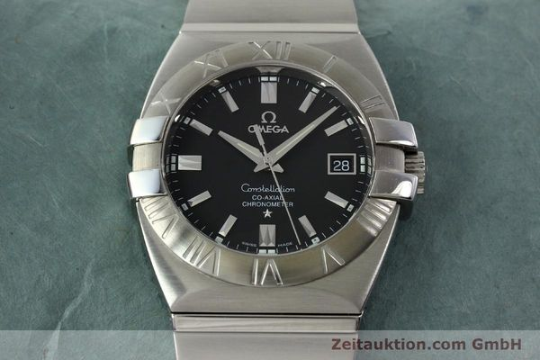 Used luxury watch Omega Constellation steel automatic Kal. 2500  | 150770 15