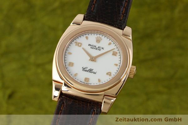 Used luxury watch Rolex Cellini 18 ct gold manual winding Kal. 1602 Ref. A841271  | 150773 04