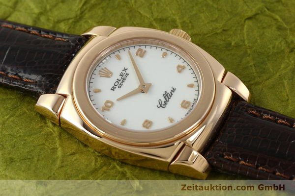 Used luxury watch Rolex Cellini 18 ct gold manual winding Kal. 1602 Ref. A841271  | 150773 17