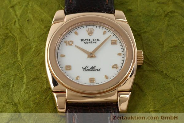 Used luxury watch Rolex Cellini 18 ct gold manual winding Kal. 1602 Ref. A841271  | 150773 18