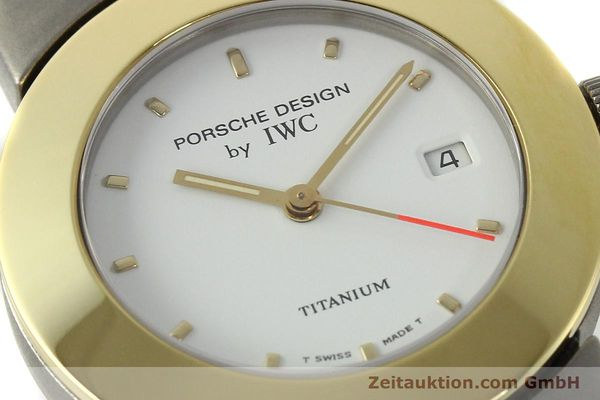 Used luxury watch IWC Porsche Design titanium / gold quartz Kal. 2209 ETA 256111  | 150775 02