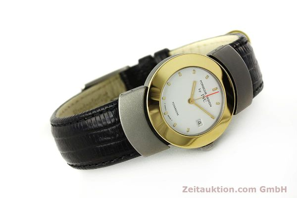 Used luxury watch IWC Porsche Design titanium / gold quartz Kal. 2209 ETA 256111  | 150775 03