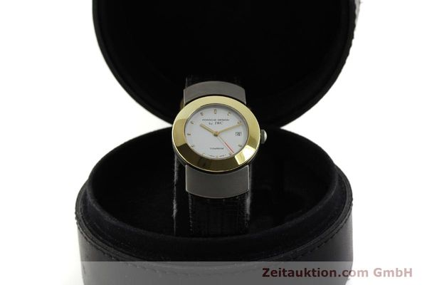 Used luxury watch IWC Porsche Design titanium / gold quartz Kal. 2209 ETA 256111  | 150775 07