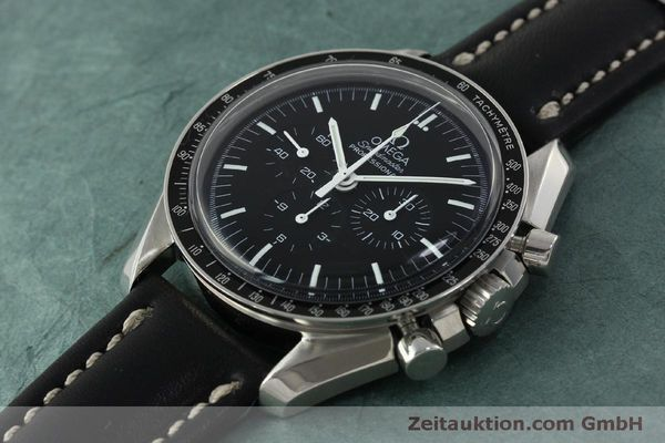 Used luxury watch Omega Speedmaster chronograph steel manual winding Kal. 1861  | 150780 01