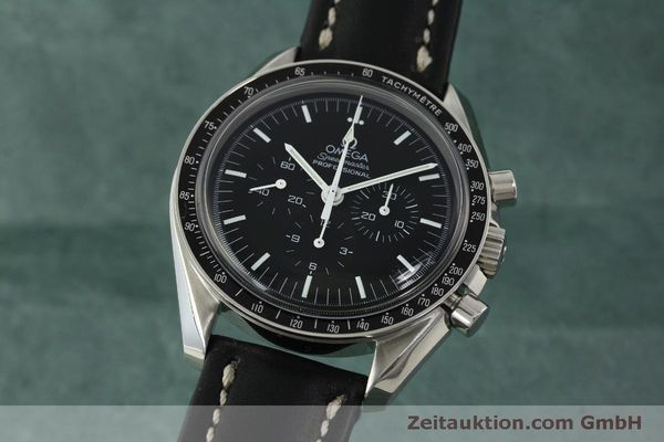Used luxury watch Omega Speedmaster chronograph steel manual winding Kal. 1861  | 150780 04