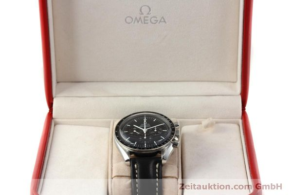 Used luxury watch Omega Speedmaster chronograph steel manual winding Kal. 1861  | 150780 07