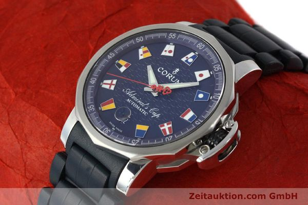 Used luxury watch Corum Admirals Cup steel automatic Kal. ETA 2892A2 Ref. 082.833.20  | 150781 01