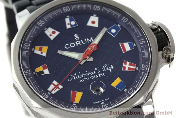 Used luxury watch Corum Admirals Cup steel automatic Kal. ETA 2892A2 Ref. 082.833.20  | 150781 02