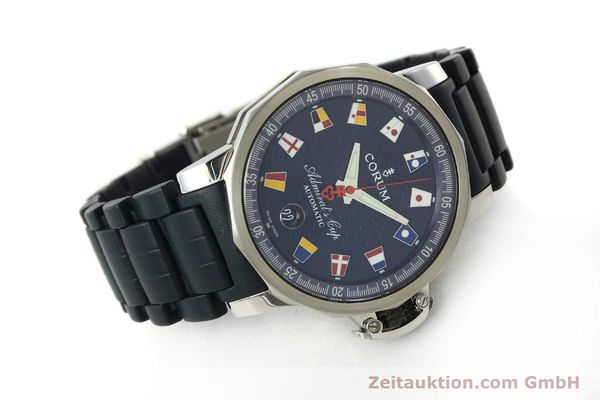 Used luxury watch Corum Admirals Cup steel automatic Kal. ETA 2892A2 Ref. 082.833.20  | 150781 03