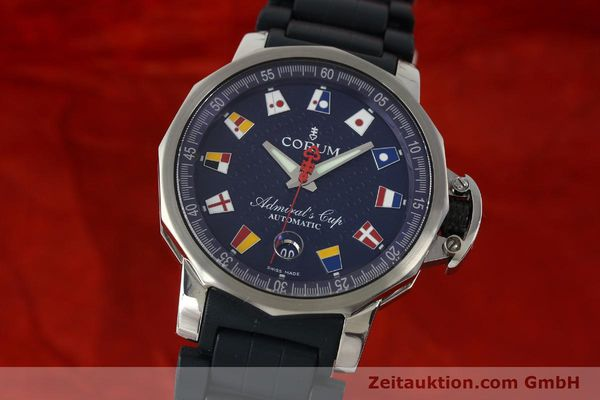 Used luxury watch Corum Admirals Cup steel automatic Kal. ETA 2892A2 Ref. 082.833.20  | 150781 04