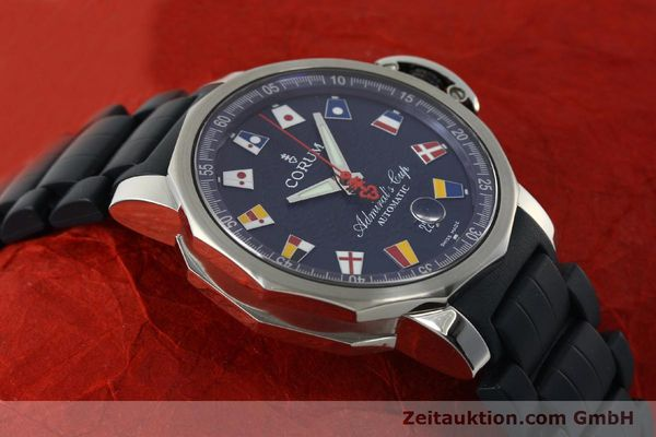 Used luxury watch Corum Admirals Cup steel automatic Kal. ETA 2892A2 Ref. 082.833.20  | 150781 15