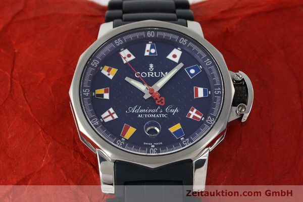 Used luxury watch Corum Admirals Cup steel automatic Kal. ETA 2892A2 Ref. 082.833.20  | 150781 16