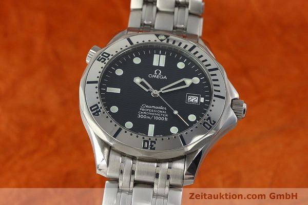 Used luxury watch Omega Seamaster steel automatic Kal. 1120 Ref. 25328000  | 150788 04