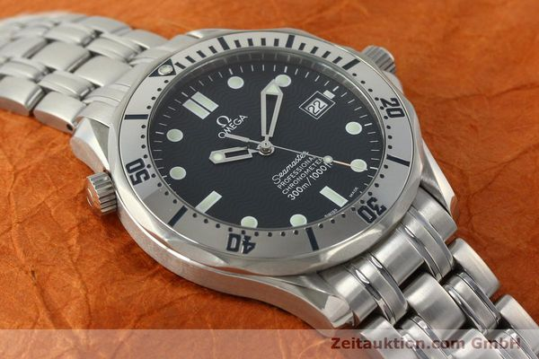 Used luxury watch Omega Seamaster steel automatic Kal. 1120 Ref. 25328000  | 150788 17