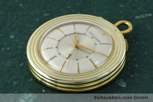 Used luxury watch Jaeger Le Coultre Taschenuhr gold-plated manual winding Kal. 814  | 150790 01