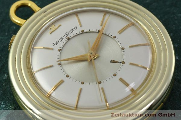 Used luxury watch Jaeger Le Coultre Taschenuhr gold-plated manual winding Kal. 814  | 150790 02