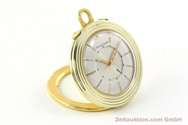 Used luxury watch Jaeger Le Coultre Taschenuhr gold-plated manual winding Kal. 814  | 150790 03