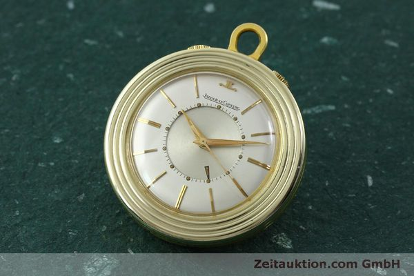Used luxury watch Jaeger Le Coultre Taschenuhr gold-plated manual winding Kal. 814  | 150790 04