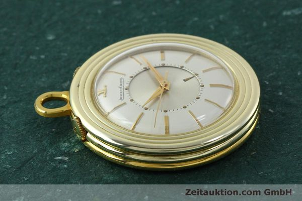 Used luxury watch Jaeger Le Coultre Taschenuhr gold-plated manual winding Kal. 814  | 150790 05