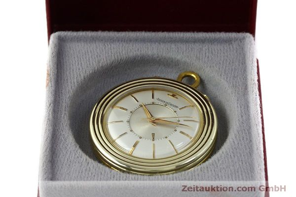 Used luxury watch Jaeger Le Coultre Taschenuhr gold-plated manual winding Kal. 814  | 150790 07