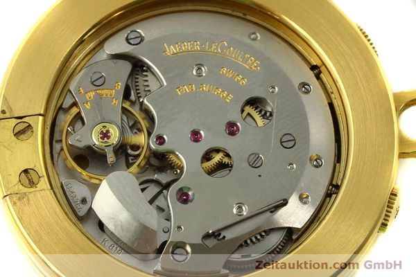 Used luxury watch Jaeger Le Coultre Taschenuhr gold-plated manual winding Kal. 814  | 150790 10