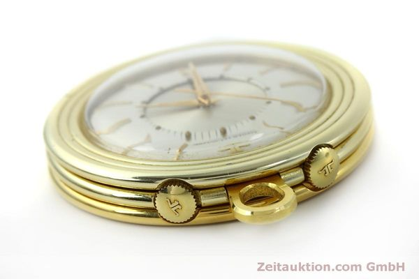 Used luxury watch Jaeger Le Coultre Taschenuhr gold-plated manual winding Kal. 814  | 150790 11