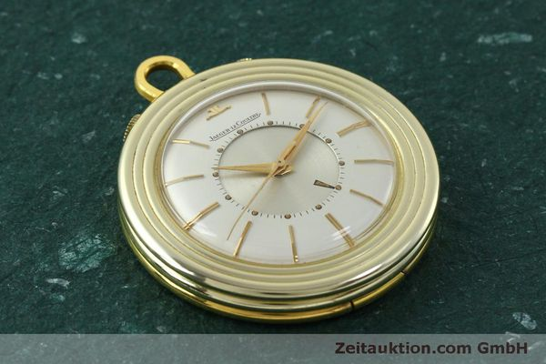 Used luxury watch Jaeger Le Coultre Taschenuhr gold-plated manual winding Kal. 814  | 150790 13