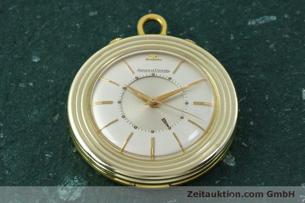 Used luxury watch Jaeger Le Coultre Taschenuhr gold-plated manual winding Kal. 814  | 150790 14