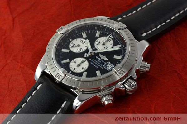 Used luxury watch Breitling Evolution chronograph steel automatic Kal. B13 ETA 7750 Ref. A13356  | 150797 01