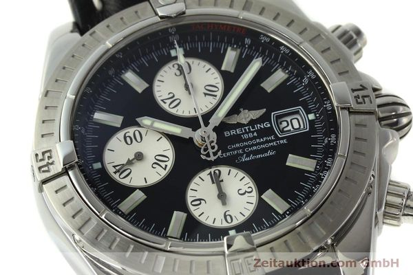 Used luxury watch Breitling Evolution chronograph steel automatic Kal. B13 ETA 7750 Ref. A13356  | 150797 02