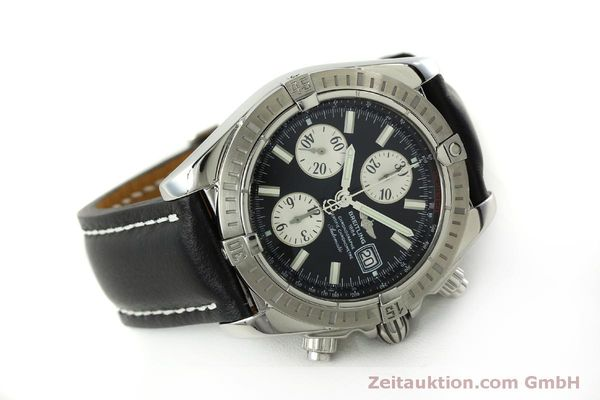 Used luxury watch Breitling Evolution chronograph steel automatic Kal. B13 ETA 7750 Ref. A13356  | 150797 03