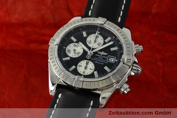 Used luxury watch Breitling Evolution chronograph steel automatic Kal. B13 ETA 7750 Ref. A13356  | 150797 04