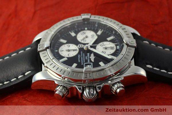 Used luxury watch Breitling Evolution chronograph steel automatic Kal. B13 ETA 7750 Ref. A13356  | 150797 05