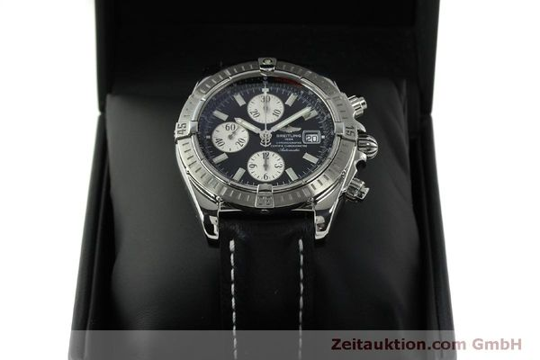 Used luxury watch Breitling Evolution chronograph steel automatic Kal. B13 ETA 7750 Ref. A13356  | 150797 07