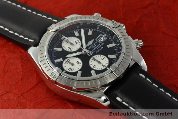 Used luxury watch Breitling Evolution chronograph steel automatic Kal. B13 ETA 7750 Ref. A13356  | 150797 13