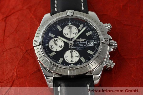 Used luxury watch Breitling Evolution chronograph steel automatic Kal. B13 ETA 7750 Ref. A13356  | 150797 14