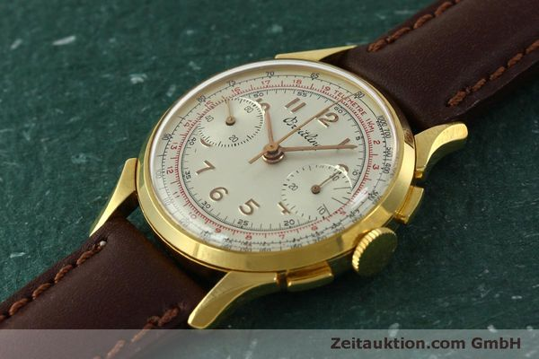 Used luxury watch Breitling * chronograph gold-plated manual winding Kal. Venus 188 Ref. 1193 VINTAGE  | 150801 01