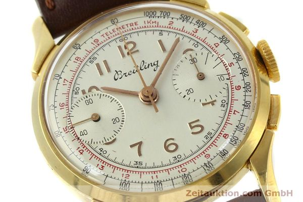 Used luxury watch Breitling * chronograph gold-plated manual winding Kal. Venus 188 Ref. 1193 VINTAGE  | 150801 02